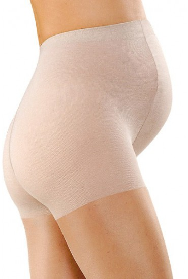 Collant maternité beige 30 deniers