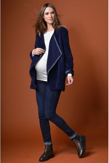 veste de grossesse lainage enveloppante