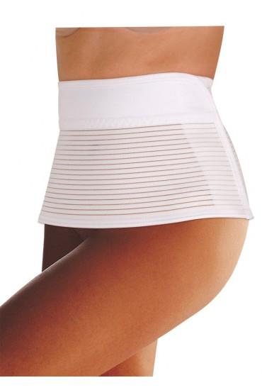 Ceinture post grossesse blanche
