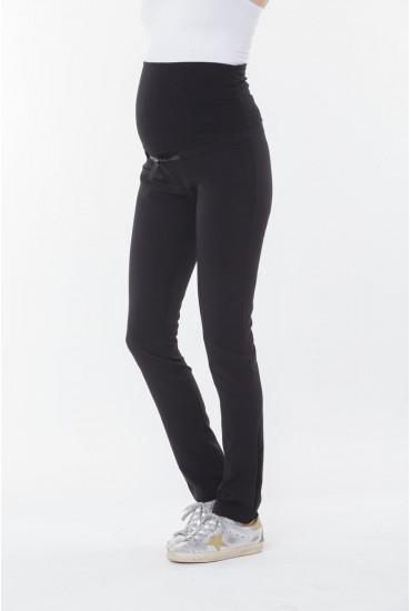 pantalon slim de grossesse avec ruban