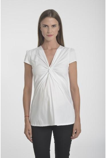 chemise de grossesse popeline