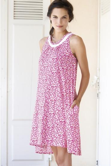 robe bain de soleil imprimé grossesse