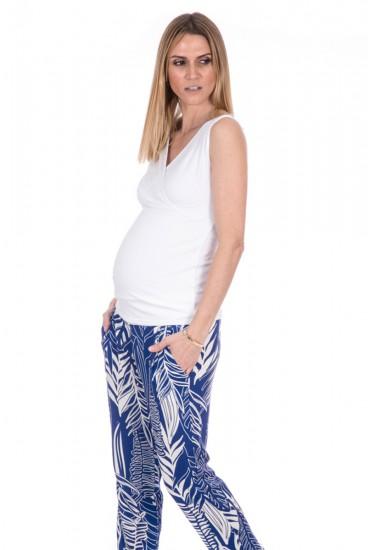 Top grossesse spécial allaitement uni