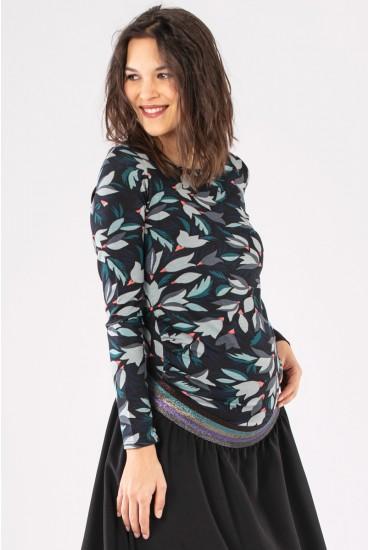 Tee-shirt maternité fantaisie