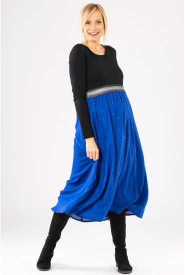 jupe longue grossesse ceinture elastiquée