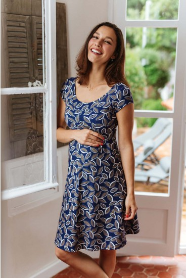 robe courte de grossesse Jeanne