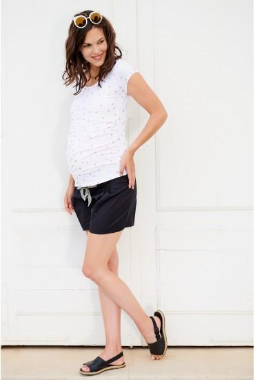 Short de grossesse à nouer