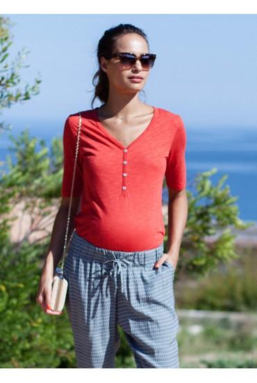 Tee-shirt coton Laly uni