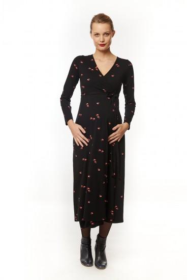 Robe longue grossesse Nayeli fleurs