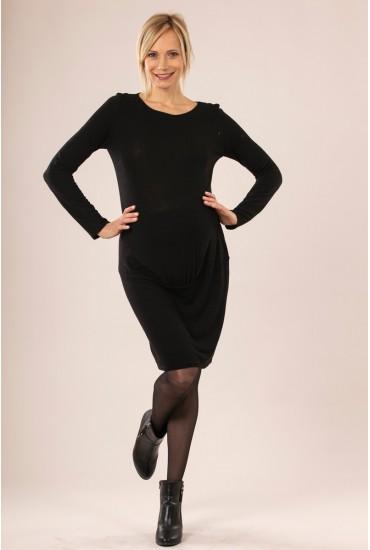 robe grossesse molletonnée noeud dos