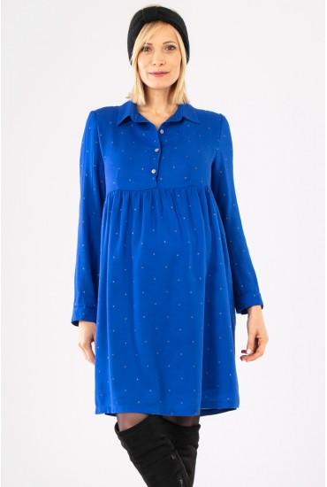robe chemise grossesse imprime
