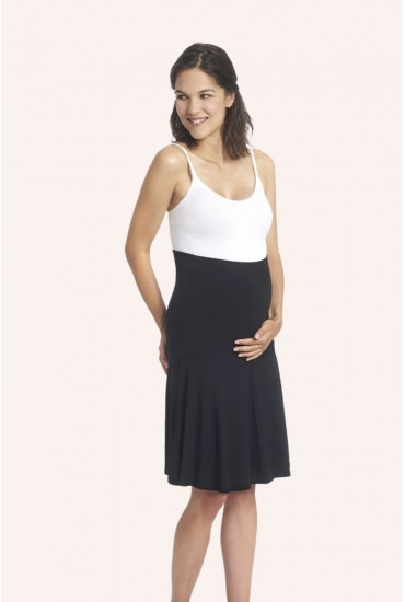 Jupe de grossesse basic noire