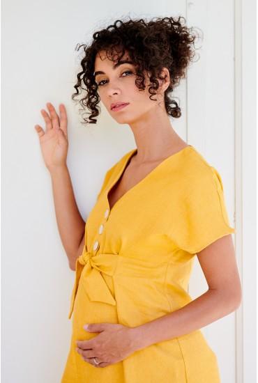 Robe de grossesse et allaitement coton