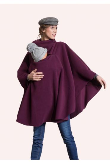 Poncho de grossesse et portage bordeaux