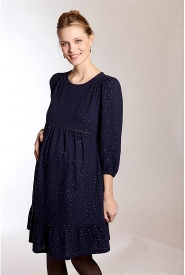 Robe de grossesse ample en coton